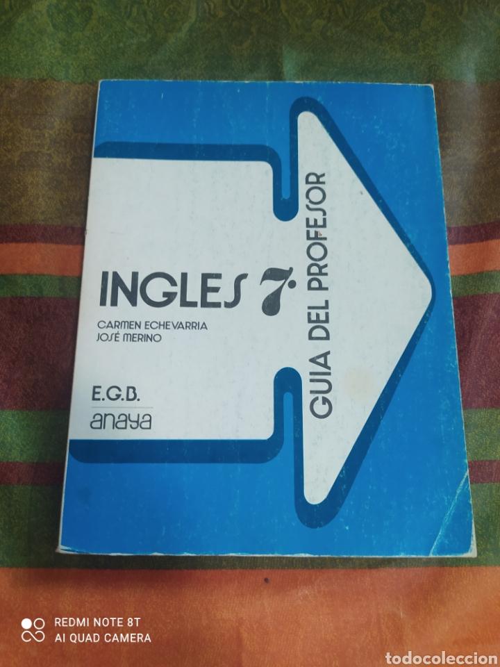 INGLÉS 7 E.G.B. ANAYA (Libros Nuevos - Libros de Texto - Infantil y Primaria)