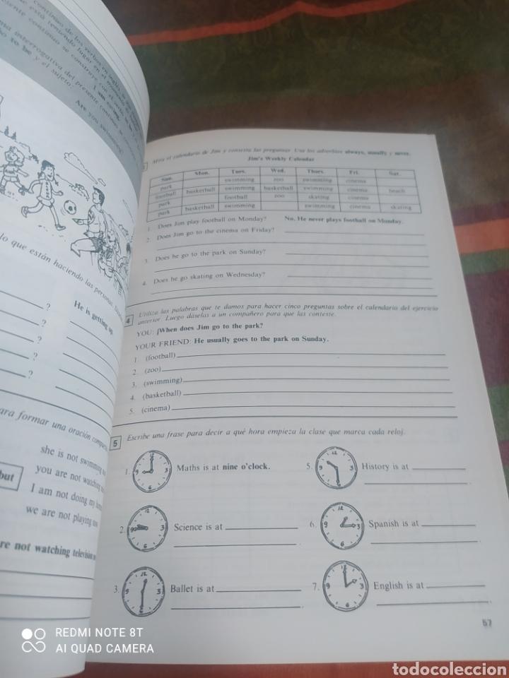Libros: CUADERNO DE TRABAJO INGLÉS 6 E.G.B. SANTILLANA - Foto 5 - 278172373