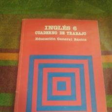 Libros: CUADERNO DE TRABAJO INGLÉS 6 E.G.B. SANTILLANA. Lote 278172373