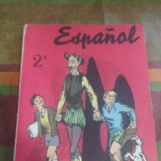 Libros: LIBRO ESPAÑOL 2* CURSO. Lote 278173943