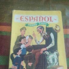 Libros: LIBRO ESPAÑOL PRIMER CURSO. Lote 278175178