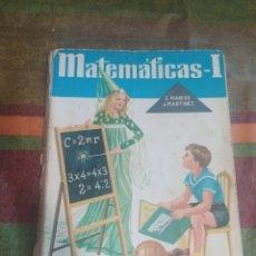 Libros: MATEMÁTICAS 1. Lote 278176188