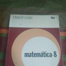 Libros: MATEMÁTICAS 8 E.G.B.. Lote 278177053
