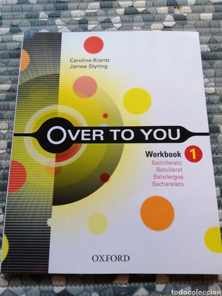 Libros: Lote over to you y librito exam - editorial Oxford - Foto 2 - 282871563