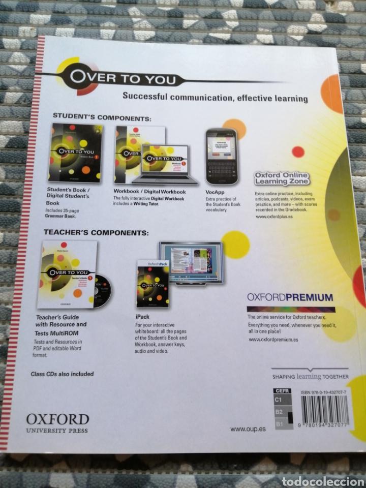 Libros: Lote over to you y librito exam - editorial Oxford - Foto 3 - 282871563