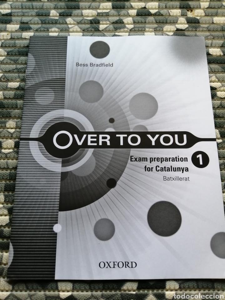 Libros: Lote over to you y librito exam - editorial Oxford - Foto 4 - 282871563