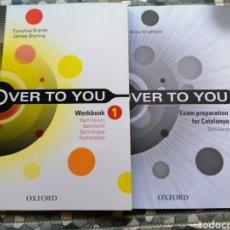 Libros: LOTE OVER TO YOU Y LIBRITO EXAM - EDITORIAL OXFORD. Lote 282871563