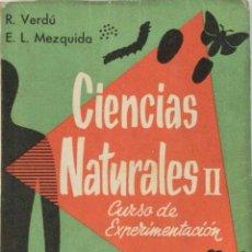 Libros: CIENCIAS NATURALES II. ECIR.. Lote 285110148