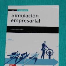 Libros: SIMULACIÓN EMPRESARIAL — CICLO FORMATIVO DE GRADO SUPERIOR. Lote 286563573