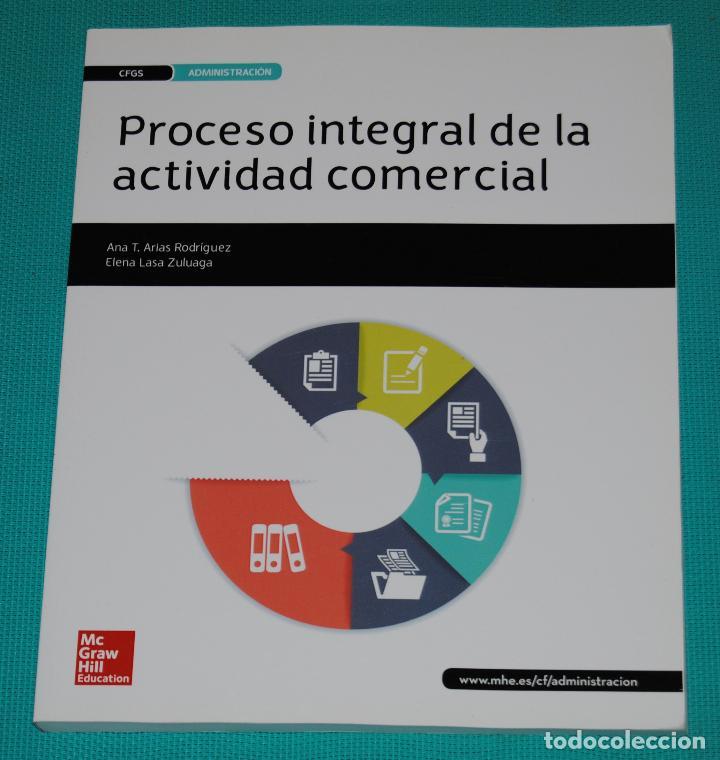 PROCESO INTEGRAL DE LA ACTIVIDAD COMECIAL (Libros Nuevos - Libros de Texto - Ciclos Formativos - Grado Superior)