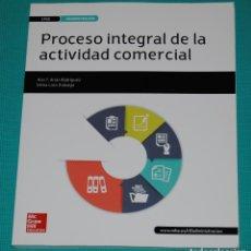 Libros: PROCESO INTEGRAL DE LA ACTIVIDAD COMECIAL. Lote 286973328
