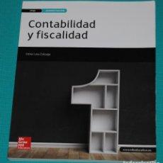 Livres: CONTABILIDAD Y FISCALIDAD. Lote 286975933
