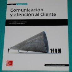 Libros: COMUNICACIÓN Y ATENCIÓN AL CLIENTE. Lote 286981403