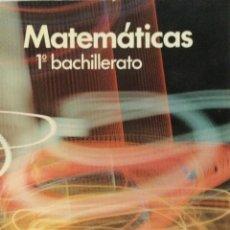Libros: MATEMÁTICAS 1* BUP. SOMOSAGUAS. NUEVO. Lote 287446768