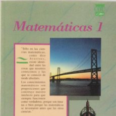 Libros: MATEMÁTICAS 1* BUP. BRUÑO. NUEVO. Lote 287447358