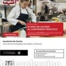 Libros: PACK LIBROS + ACCESO 15 DÍAS CONTENIDO PRÁCTICO ONLINE. AYUDANTE DE COCINA. JUNTA DE COMUNIDADES DE. Lote 288019953