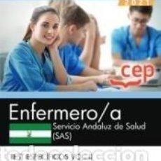 Libros: ENFERMERO/A. SERVICIO ANDALUZ DE SALUD (SAS). TEST ESPECÍFICOS VOL.II. Lote 288020193