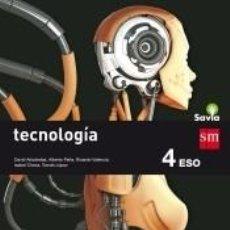 Libros: TECNOLOGÍA. 4 ESO. SAVIA. Lote 288030083
