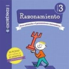 Libros: CUADERNO RAZONAMIENTO SERIE ENTRENATE 3 PRIMARIA. Lote 288030098