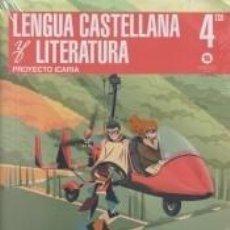 Libros: 4º ESO LENGUA Y LITERATURA ICARIA. Lote 288034793