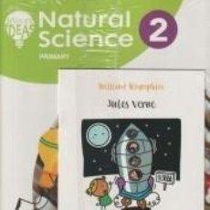 Libros: PACK NATURAL SCIENCE 2. PUPILS BOOK + IDEAS DE CERCA + BRILLIANT BIOGRAPHY. JULES VERNE. Lote 288085398