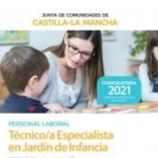 Libros: TÉCNICO/A ESPECIALISTA EN JARDÍN DE INFANCIA. TEMARIO VOLUMEN 2. JUNTA DE COMUNIDADES CASTILLA-LA. Lote 288085423