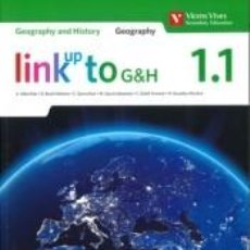 Libros: LINK UP TO G&H 1 (1.1-1.2) GEOGRAPHY-HISTORY. Lote 288085483