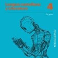 Libros: LENGUA CASTELLANA Y LITERATURA POR TAREAS 4 ESO EDICIÓN PARA ANDALUCÍA. Lote 288451183