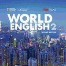 Libros: WORLD ENGLISH 2 WORKBOOK. Lote 288461463
