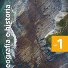 Libros: GEOGRAFÍA E HISTORIA. 1 ESO. SAVIA NUEVA GENERACIÓN. ANDALUCÍA. Lote 288912373