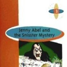 Libros: JENNY ABEL THE SNISSTER MYSTERY 2ºESO. Lote 289255798