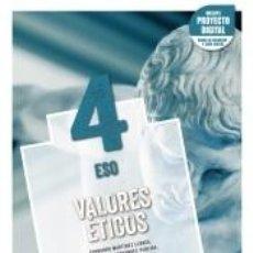 Libros: VALORES ÉTICOS 4.. Lote 289468333