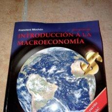 Libros: INTRODUCCIÓN A LA MACROECONOMIA. Lote 290270823