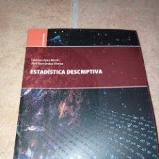 Libros: ESTADÍSTICA DESCRIPTIVA. Lote 290271428
