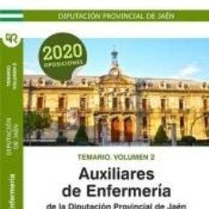 Libros: TEMARIO. VOLUMEN 2. AUXILIARES DE ENFERMERÍA DE LA DIPUTACIÓN PROVINCIAL DE JAÉN.. Lote 293760583