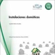 Libros: INSTALACIONES DOMÓTICAS.PRIMERO.GRADO MEDIO. Lote 295276778