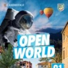 Libros: OPEN WORLD ADVANCED. SELF-STUDY PACK WITHOUT ANSWERS. Lote 295412088