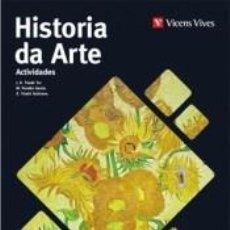 Libros: HISTORIA DA ARTE ACTIVIDADES GALICIA. Lote 295618403