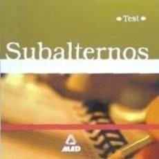 Libros: SUBALTERNOS DE LA UNIVERSIDAD PUBLICA DE NAVARRA. TEST. Lote 295618573