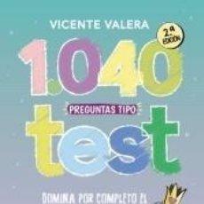 Libros: 1040 PREGUNTAS TIPO TEST TREBEP. Lote 296586348
