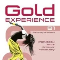 Libros: GOLD EXPERIENCE B1 LANGUAGE AND SKILLS WORKBOOK. Lote 296586408
