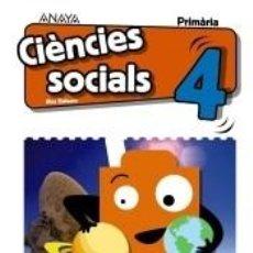 Libros: CIÈNCIES SOCIALS 4.. Lote 296586438