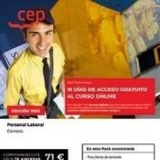 Libros: PACK DE LIBROS + 15 DÍAS DE CURSO ONLINE PERSONAL LABORAL CORREOS. Lote 296691393