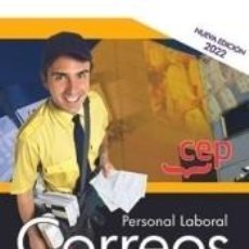 Libros: PERSONAL LABORAL. CORREOS. SIMULACROS DE EXAMEN. Lote 296809018