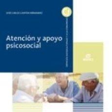 Libros: ATENCIÓN Y APOYO PSICOSOCIAL. Lote 297178103