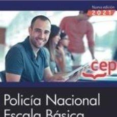 Libros: POLICÍA NACIONAL. ESCALA BÁSICA. TEST VOL. I. Lote 297235813