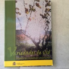 Libros: VARIEDADES DE LA VID.. Lote 59506771