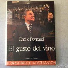 Libros: EL GUSTO DEL VINO. Lote 59519831