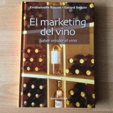 Libros: EL MARKETING DEL VINO.. Lote 59526635