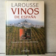 Libros: VINOS DE ESPAÑA. Lote 59574143
